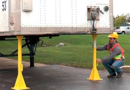 Truck Trailer Stabilizer Jack Stands | SafeRack