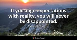 Quotes About Expectations Amazing Disappointed Quotes BrainyQuote