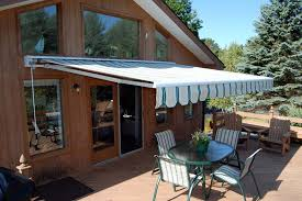 open patio awning motorized awnings for decks16