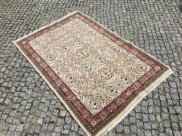 unique turkish turkey rug 184x122 cm hand knotted
