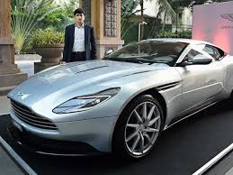 new car launches in chennaiFor your eyes only Aston Martin drives DB11 in India at Rs 427