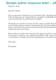 Cover Letter For Manuscript Submission Sample Paper Submission Cover