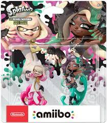 Splatoon 2 Brand Chart Details About Pearl Marina Amiibo 2 Pack Nintendo Wii U Splatoon 2 Series Inkling Dual New