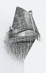 cool architecture drawing. Contemporary Architecture Professional Hand Dustin Wheat For Cool Architecture Drawing