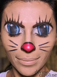 makeup how to illusion cartoon cat face