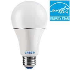 Switch 100 Led Light Bulb Cree 30 60 100w Equivalent Soft White 2700k A21 3 Way Led
