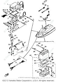 yamaha waverunner 1989 oem parts diagram for electrical 1