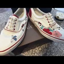 gucci vans. gucci shoes - size 10 1/2 men\u0027s vans