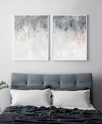 what color bedding goes with grey walls curtains image pink grey wall art printable art