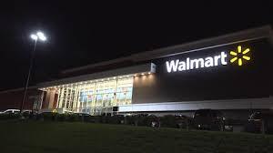 Walmart Supercenter Two Level Storefront Saugus Massachusetts Usa November 3 2014