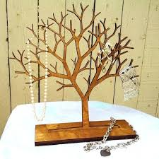 tree jewelry stand by on decorate our home hanger wire