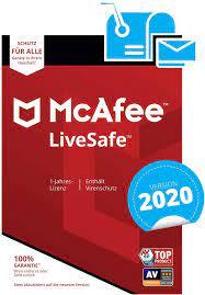 McAfee LiveSafe 2020   Eine unbegrenzte Anzahl an Geräten   1 Jahr    PC/Mac/Smartphone/Tablet   Aktivierungscode per Post: Amazon.de: Software