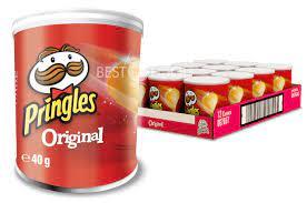 Pringles Original Chips Rolle 12x 40g