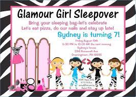 sleepover template invitation for sleepover party jahrestal com