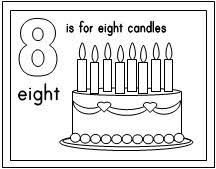 Small Picture Block Number Coloring Pages Coloring Pages