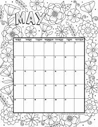 printable calendar 2019 may 2019 coloring calendar woo jr kids activities