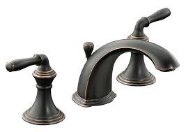 KOHLER K 394 4 BRZ Devonshire Widespread Lavatory Faucet Oil