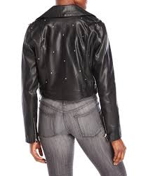 gallery previously sold at century 21 women s cropped leather jackets