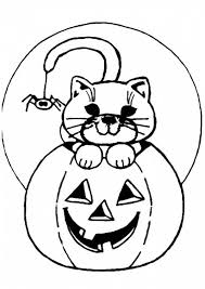 Small Picture Jack o lantern with cat coloring pages ColoringStar