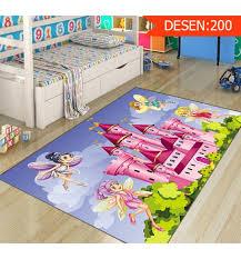 else pink castle green nature cute fairys girl 3d print non slip microfiber children kids room decorative area rug