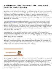 essay terrorism world peace dissertation hypothesis how to  essay terrorism world peace