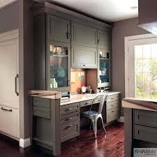 dark brown kitchen cabinets white with granite countertops gray walls lovely blue