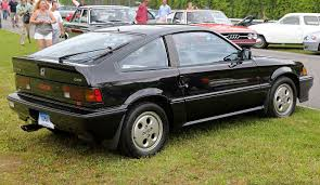 File:1987 Honda CRX Si, rear right (Lime Rock).jpg - Wikimedia Commons