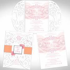 Place Card Design Die Cut Wedding Invitations Tree Invitation Ideas Design