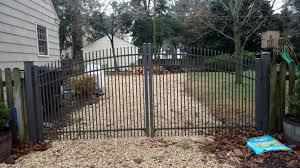 picket fence double gate. Aluminum Double Swing Picket Rainbow Arch Fence Gate G