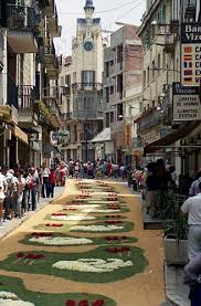 corpus christi sitges flower festival
