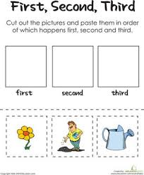 1000+ ideas about Sequencing Worksheets on Pinterest ...Kindergarten Comprehension Worksheets: First, Second, Third: A Gardener's Thumb Worksheet