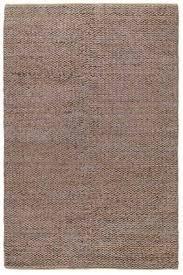 interior spaces 8x10 braided silver jute rug 2688