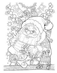 christmas card color pages octopus christmas coloring page adult color holidays beach