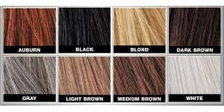 Toppik Color Chart Skin Hair Products Online Store