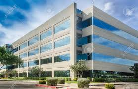 modern office building. Modern Office Building Beautiful Sky Stock Photo - 34306571