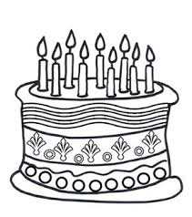 Birthday Cake Colouring Page Morning Chart For Meggie Birthday