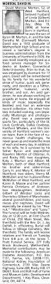 Obituary for David Monroe MORTON (Aged 52) - Newspapers.com