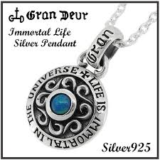 opal coin silver pendant no chain with the immortal life opal silver 925 mens pendants mens necklaces natural stone silver 925 blue rainbow english