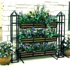 tiered plant stand best images on stands herb garden three