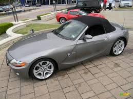 Coupe Series 2004 bmw roadster : Sterling Gray Metallic 2004 BMW Z4 3.0i Roadster Exterior Photo ...