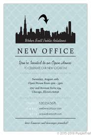 Open House Business Invitations Open House Invitations Rome Fontanacountryinn Com