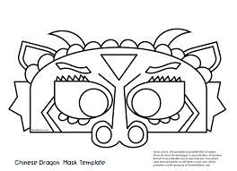 Gift printed dragon animal templates to all the kids you know, so that they can decorate their scrapbooks with the faces of the creatures they love the most and live your passion for the fascination created by dragons. Chinese Dragon Mask Printable Coloring Activity Jdaniel4s Mom