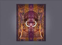 Tribal Man photo illustration – Randy Coffey Design