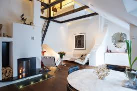 Attractive Loft Apartment With Classic Details In Stockholm