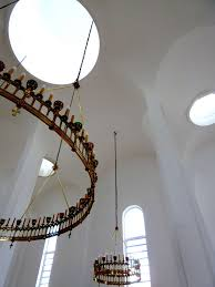 the russian orthodox church of st mary magdalene madrid showing how light plays on