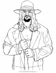Wwe Coloring Pages Kane