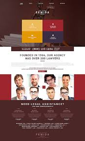 Law Templates Well Designed Law Firm Lawyer Website Templates Entheos
