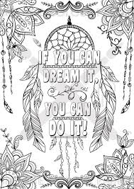 if you can dream it you can do it coloring page motivational poster