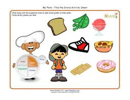 grains food group clipart. Beautiful Food My Plate Activity For Children  Grains Food Group Make A Balanced Plate For Clipart G