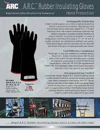 Arc Rubber Insulating Gloves